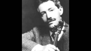 Fritz Kreisler - Brahms-Violinkonzert - Sir John Barbirolli