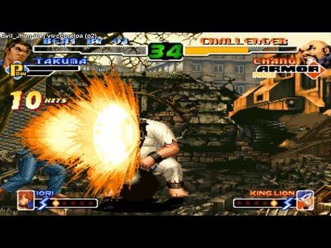 KoF 2000 - Evil Jhun (Chile) vs cobreloa (Chile)  킹 오브 파이터 2000