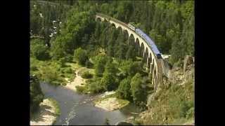 Le train touristique des Gorges de l'Allier.mp4