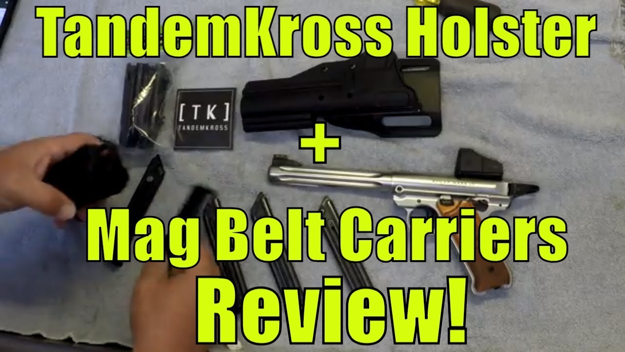 LEFT HOLSTER BLACK KYDEX FITS S/&W SW22 Victory w//top rail /& red dot