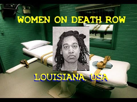 WOMEN ON DEATH ROW -  U.S.A. - ANTOINETTE FRANK - LOUISIANA
