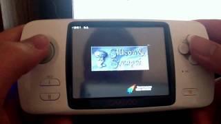 GP2X Caanoo gameplay demonstration