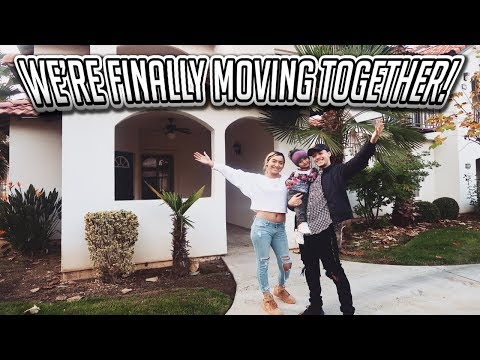 WE'RE FINALLY MOVING IN TOGETHER!!