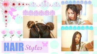 "3 EASY TUMBLR HAIRSTYLES|| COME FARE 3  ACCONCIATURE  FACILI ""TUMBLR""