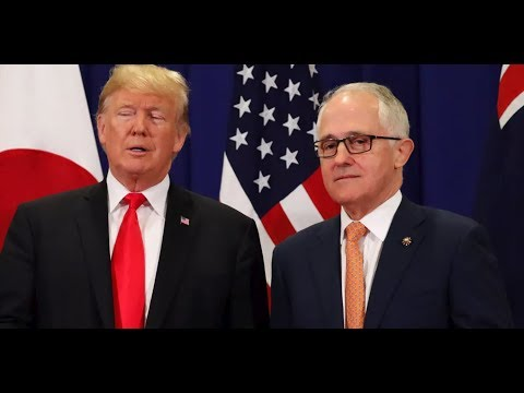 🔴LIVE: President Donald Trump HISTORIC Joint Press Conference with PM Malcolm Turnbull of Australia