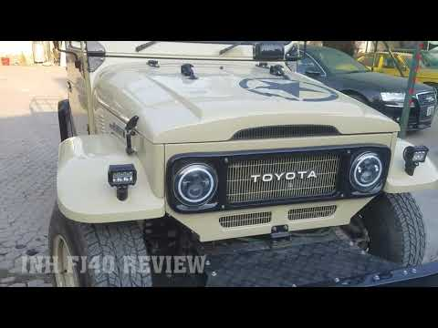 MODIFIED POWERFULL FJ40 TOYOTA LAND CRUISER