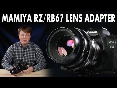 Mamiya RZ/RB67 Lens Adapter: Mount Mamiya RZ and RB67 Lenses on your Digital Camera