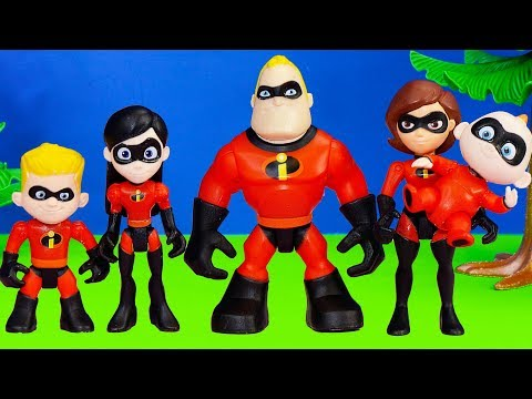 Incredibles 2 has PJ Masks Romeo Changes Incredibles into Spooky characters with Vampirina