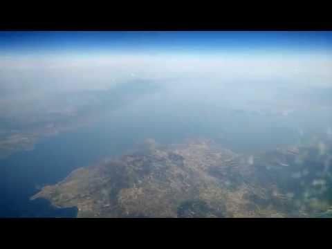 SUN EXPRESS DEUTSCHLAND Timelapse flight: Frankfurt - Bodrum