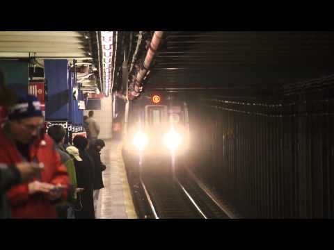 MTA New York City Subway : Rerouted (Q) & (R) Trains @ Grand Street [ IND 6th Avenue Line ]