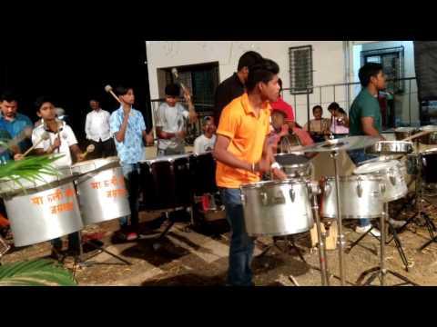 Mauli beats playing RAM ji ki nikli sawari song at jnpt colony uran