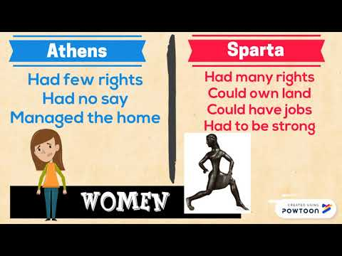Athens and Sparta: Two Greek City-States