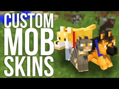How to Add Custom Mob Skins in Minecraft