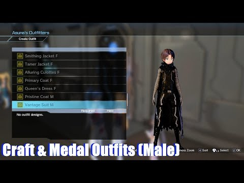 Sword Art Online: Hollow Realization - [All DLC Outfits!] - Episode