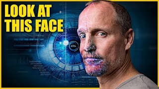 Terrifying Bio-metrics USED Woody Harrelson's Face To Go After Beer Thief!