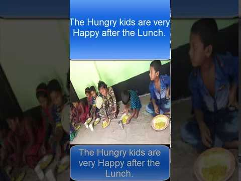 Hungry Kids Happy time video