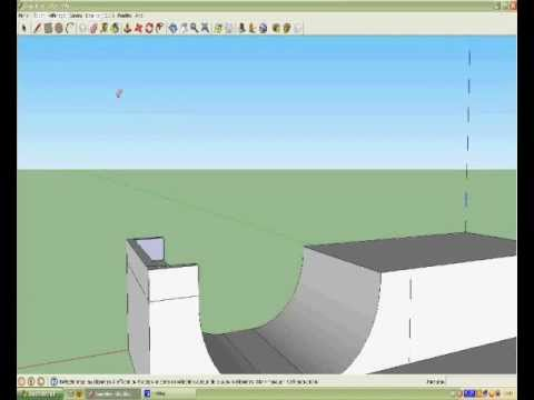 Comment faire un skatepark sur sketchup episode 1 youtube - Comment faire du skateboard ...