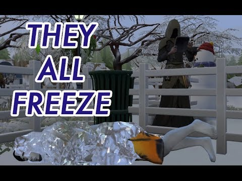 SIMS 4 GAMEPLAY! // THEY FINALLY DIE FREEZING IN THE WINTER // FINAL SEASONS |
