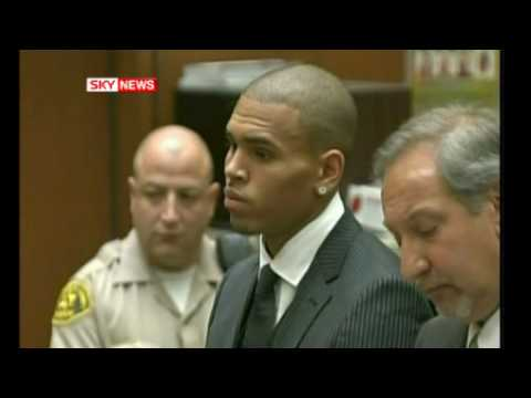 Chris Brown Sentenced For Beating Up Rihanna