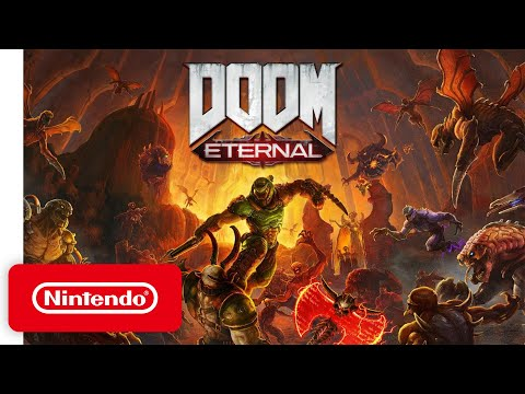 DOOM Eternal - Release Date Trailer - Nintendo Switch