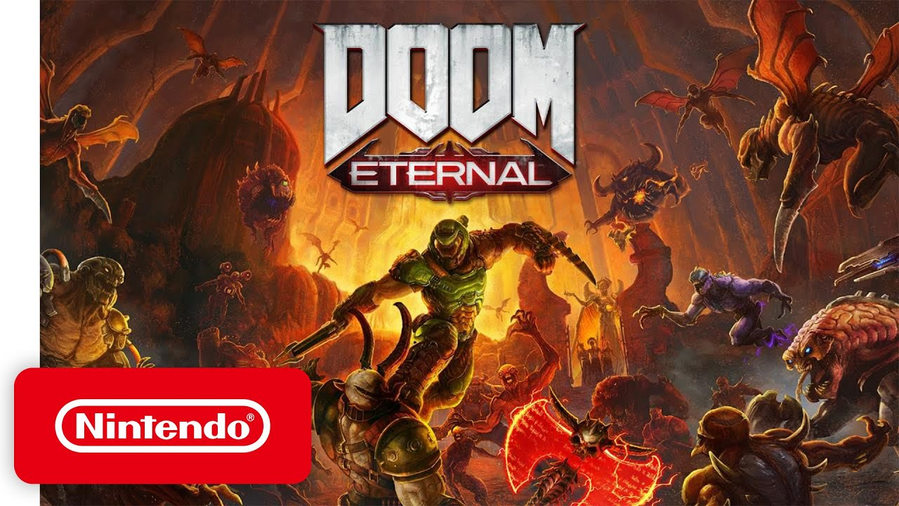 DOOM Eternal - Release Date Trailer - Nintendo Switch