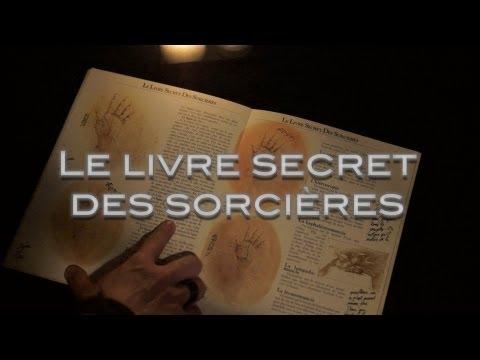 Le livre secret des sorcières ( Insomnie chuchotement ASMR relaxation bougies)