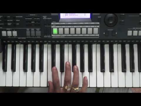 areyanname aaromale, vasantha geethangal, on keyboard slow played