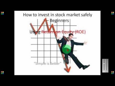 Return on Equity (ROE) Example explained