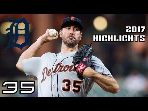 Justin Verlander   2017 Tigers Highlights ᴴᴰ