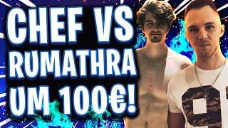 😂🥇💶DAS 100€ SOLO VS SQUAD DUELL! | Chefstrobel vs Rumathra! Wer ist der bessere Spieler?!
