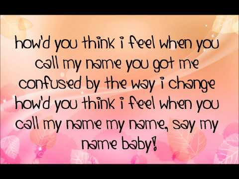 Cheryl Cole - Call my name lyrics