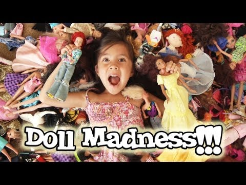 DOLL MADNESS!!! Plus Jillian sings for FATHER'S DAY