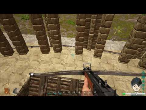 Ark Survival Evolved Creative Building - Roman Coliseum (Coliseum-Gladiator Pit) - Stream #10