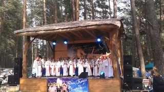 Концерт на Ивана Купала в Олешне(В рамках молодежного фестиваля авторской песни