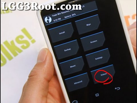 How to Install CWM or TWRP Recovery on LG G3!