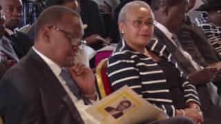 Uhuru and Raila pay tribute Dr Munyua Waiyaki