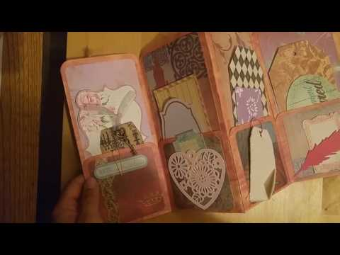 Photo Folio and File Folder Mini Albums