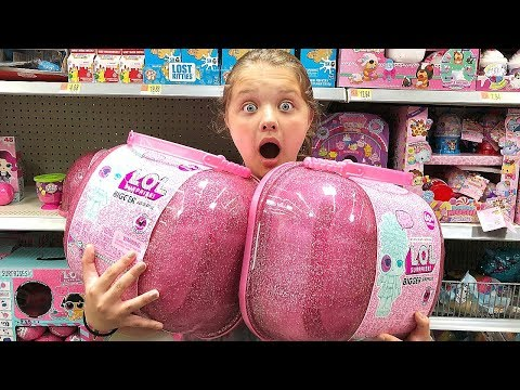Toy Shopping At Walmart For LOL Dolls Baby Doll Accessories