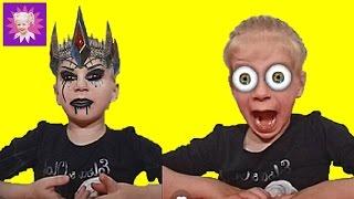 МЕНЯЕМСЯ ЛИЦАМИ ЧЕЛЛЕНДЖ! Msqrd приложение, смешные лица! Веселые развлечения для детей!