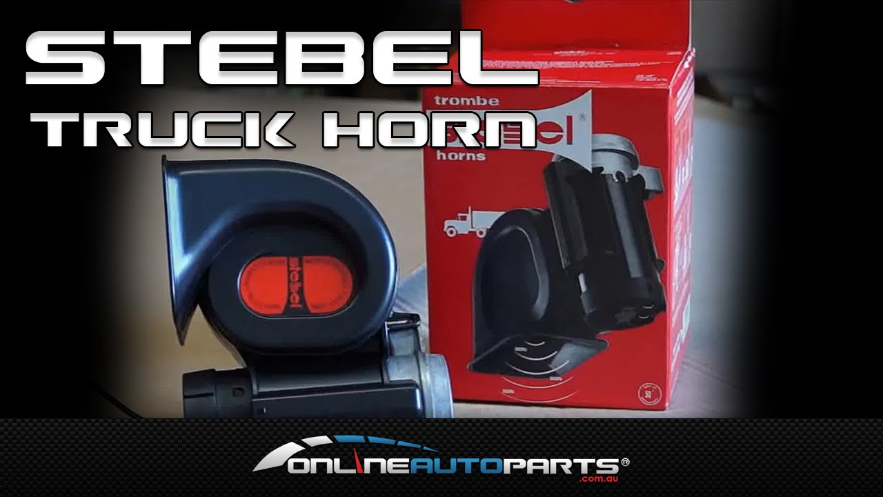Loud Car Horn >> Stebel Compact Truck Horn Air Horn Loud Car Motorbike 4x4 Suv