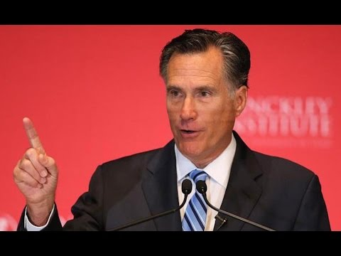 Mitt Romney Throws Everything He's Got At Trump