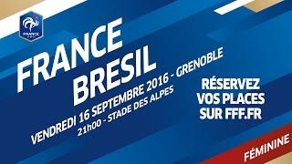 Equipe de France Féminine : Teaser France - Brésil 2016