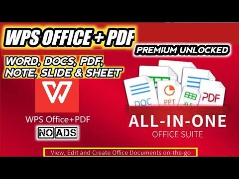 WPS Office Premium Apk + WPS Office MOD Apk    WPS Office Pro 2020