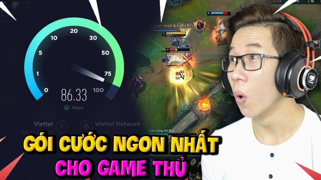 Gói Cước Ngon Nhất Dành Cho Game Thủ - Mạng Cực Mạnh Giá Cực Rẻ | NET GAME Viettel 60Mbps