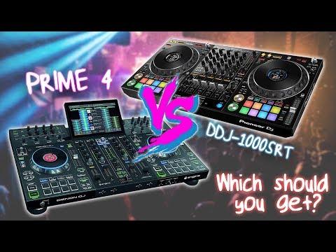 Head To Head: Pioneer DJ DDJ-1000SRT Vs Denon DJ Prime 4