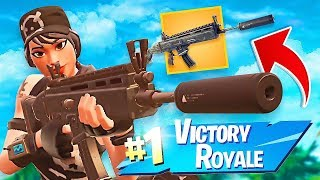 NEW LEGENDARY SUPPRESSED AR! - FORTNITE BATTLE ROYALE