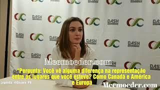 Kat Barrell comenta sobre o Brasil - Clexacon Legendado