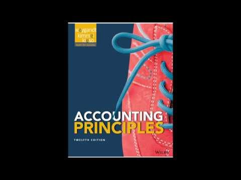 Accounting Principles 12th Edition Weygandt Pdf