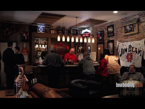 Man Caves Jim Beam : Jim beam man cave in bardstown with fred noe caves diy follow