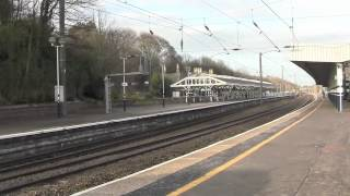 Durham Railway Station, County Durham, UK - 22nd March, 2012